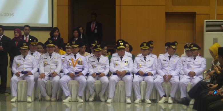 8 Kepala daerah dilantik Mendagri