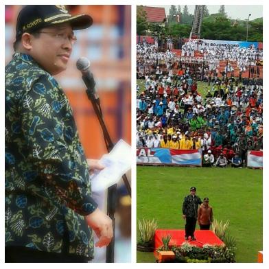 Kang Yoto Pimpin ikrar Bela Negara
