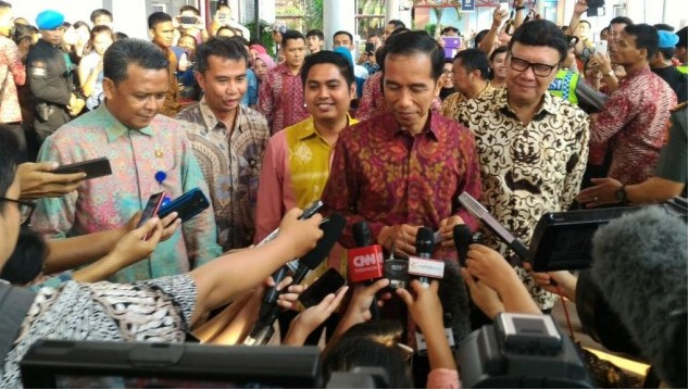 Presiden Jokowi Tutup Aitis