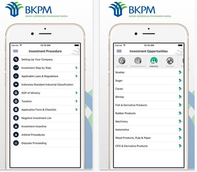 BKPM Apps