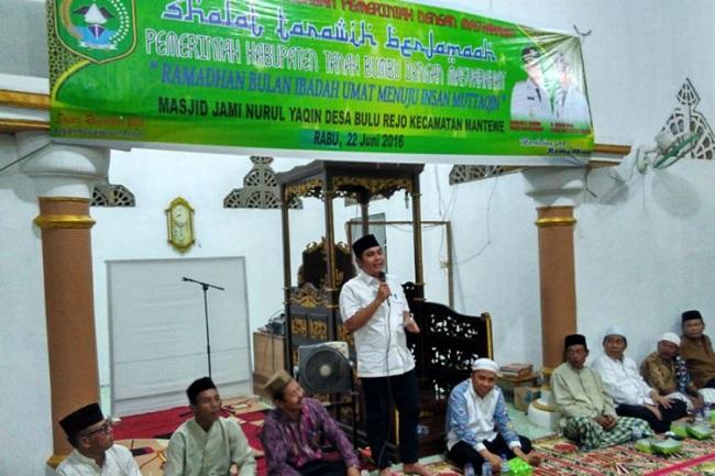 Safari Ramadhan Bupati Tanbu Sosialisasikan Proker Pemda
