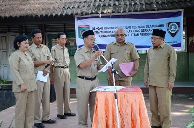 Bupati Lombok Utara Hadiri Hari Pertama Siswa Masuk Sekolah