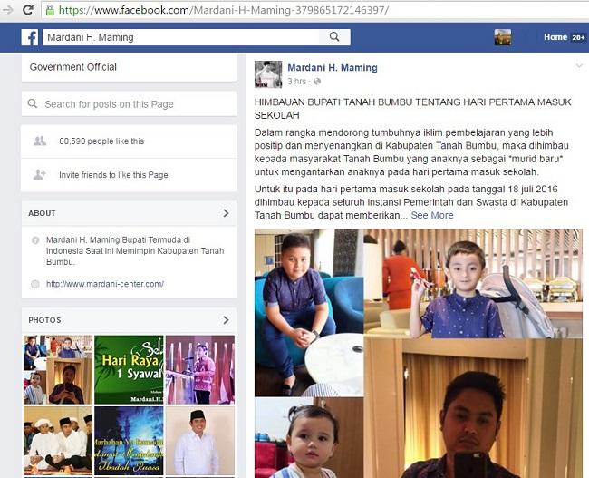 FB Mardani H Maming