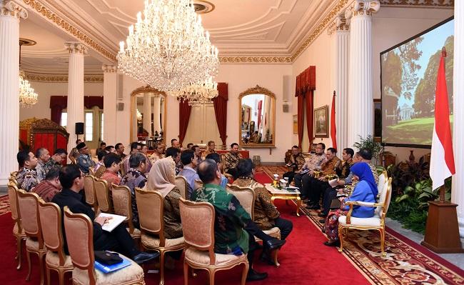 Presiden Jokowi Beri Keterangan Fasilitas Bea BPHTB-size