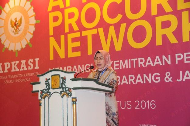 Apkasi Procurement Network 2016_Pembukaan Ratu Tatu Bupati Serang