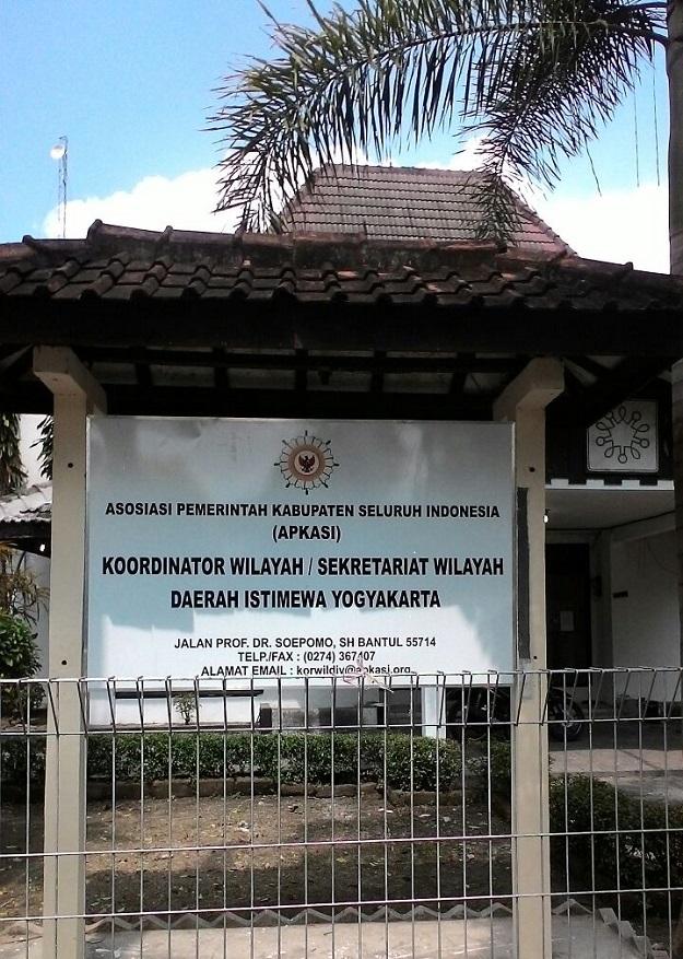 Kantor Sekretariat Apkasi Korwil DIY (2)