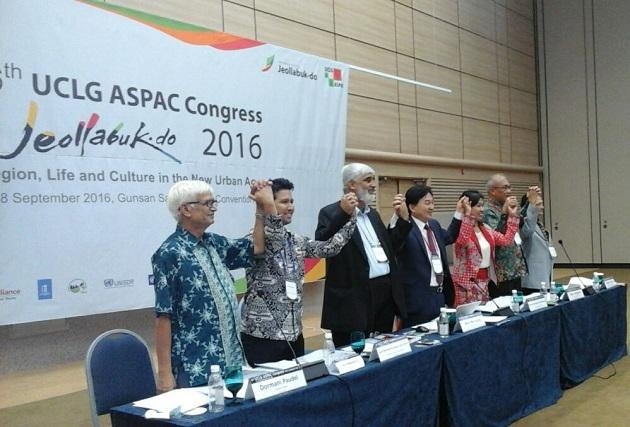 Bupati Trenggalek Emil E. Dardak Terpilih Sebagai Co Presiden UCLG Aspac (2)