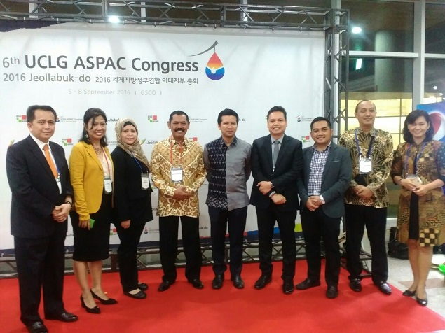Pembukaan 6th UCLG ASPAC Congress 2016 di Jeollabuk-do Korsel-1