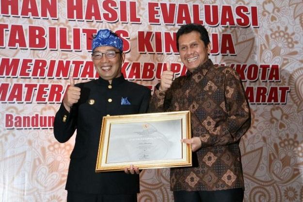 Pemkot Bandung Raih Predikat A SAKIP