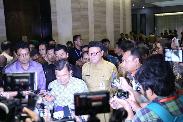Wapres Jusuf Kalla Tutup Rakornas Pilkada 2017