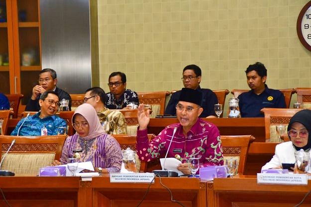 Di RDPU DPR RI Komisi IX: Apkasi Desak Tinjau Ulang Kenaikan Iuran BPJS Kesehatan Karena Memberatkan Keuangan Daerah