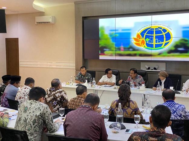Kementerian ATR/BPN & Apkasi Sepakat Bentuk Tim Kerja Bersama untuk Inventarisir Persoalan ATR di Daerah